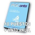 PGCONTA (10us) PLUS (1 año de servicio)