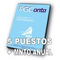 PGCONTA (5us) PLUS (1 año de servicio)