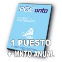 PGCONTA (1us)  PLUS (1 año de servicio)